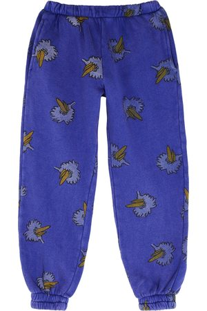 Bobo Choses Birdie printed cotton sweatpants