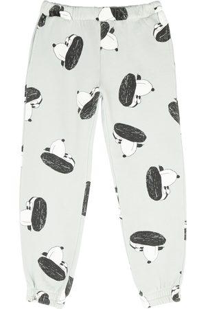Bobo Choses Sweats - Doggie printed cotton sweatpants