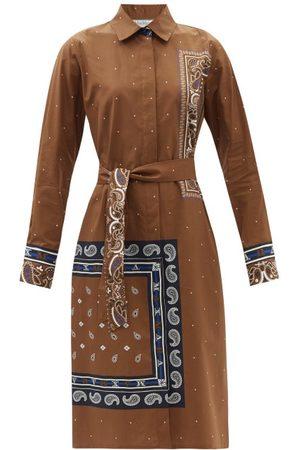Max Mara Bussola Shirt Dress - Womens - Camel