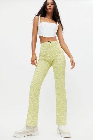 Motel Women Wide Leg Pants - Zoven Flared Trouser Pant