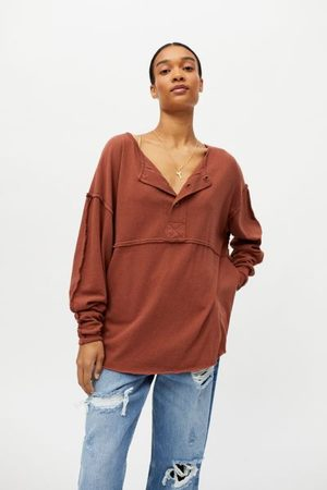 Urban Outfitters UO Freddie Henley Tunic Top