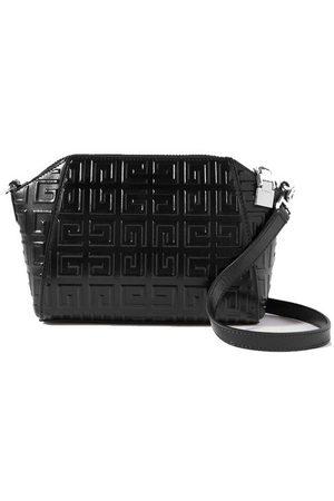 Givenchy Antigona XS mini embossed glossed-leather shoulder bag