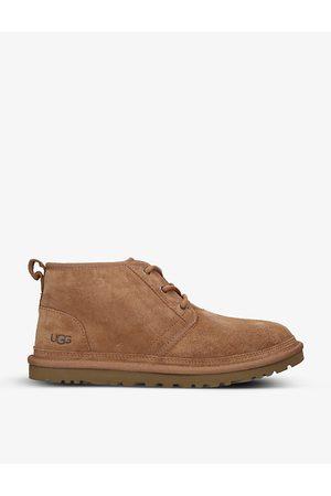 UGG Neumel logo-debossed suede chukka boots