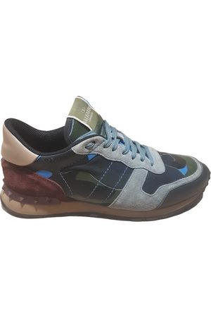 VALENTINO GARAVANI Rockrunner leather trainers