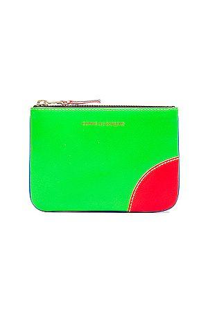Comme des Garçons Women Bags - Super Fluo Small Pouch in , ,Neon