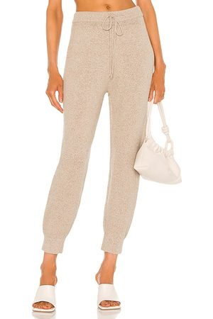 JoosTricot Speckled Jogger in Beige.