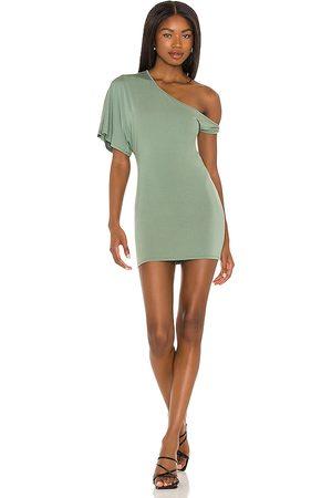 NBD Corinna Mini Dress in Sage.