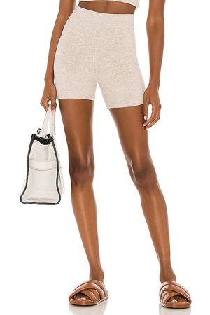 Weekend Stories Maddox Short in Taupe.