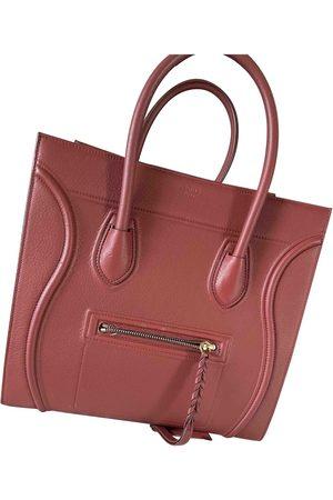 Celine Luggage Phantom leather handbag
