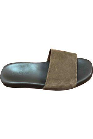 Loro Piana Leather sandals