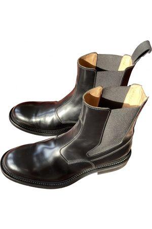 Bottega Veneta Men Boots - Leather boots