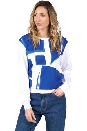 Oxbow N2 Soleil Printed Sweatshirt 0 White