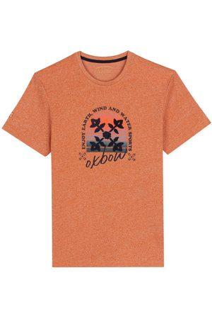 Oxbow N2 Twasp Graphic Short Sleeve T-shirt XXXL Bourbon