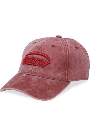 Oxbow Men Caps - N2 Evaz Washed Cap Embroidery One Size Garnet