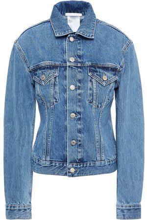 Helmut Lang Woman Denim Jacket Mid Denim Size M