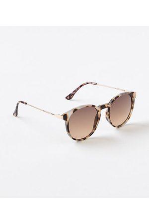 LOFT Round Sunglasses