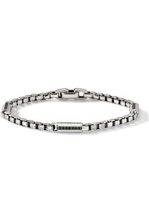 David Yurman Men Bracelets - 4.8MM diamond Station chain bracelet