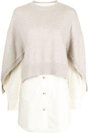 Enföld Layered knit shirt
