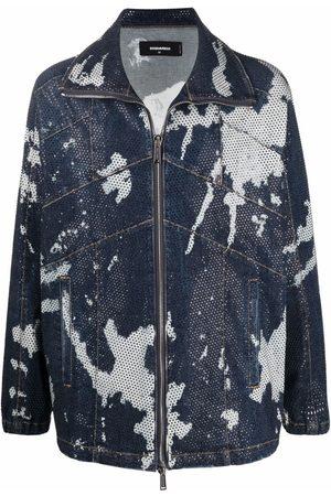 Dsquared2 Tie-dye denim jacket