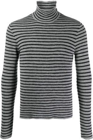 Dsquared2 Striped roll-neck jumper - Grey