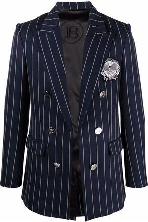Balmain Men Blazers - Peak-lapel double-breasted blazer