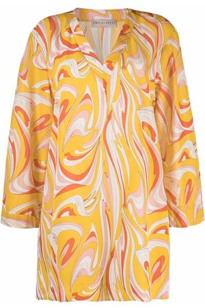 Emilio Pucci Women Beachwear - Graphic-print beach cover-up