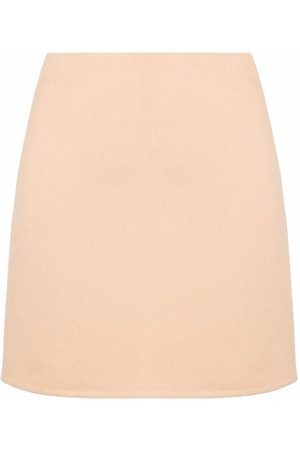 Emilio Pucci Women Mini Skirts - Fitted mini skirt - Neutrals