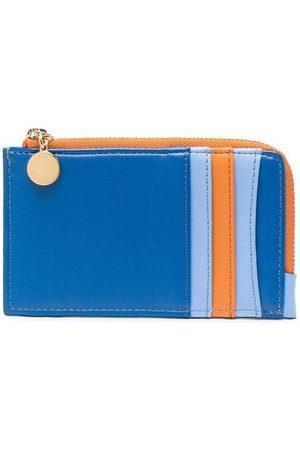 Stella McCartney Tricolour zipped cardholder