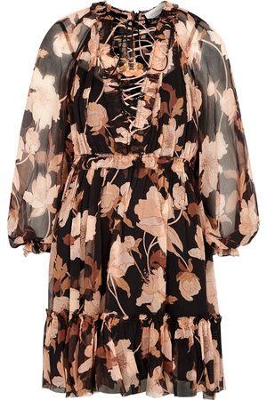 ZIMMERMANN Concert floral-print silk-chiffon mini dress