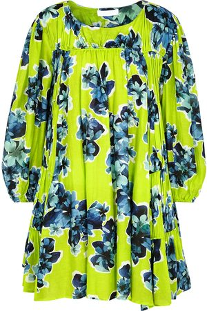 MERLETTE Women Printed Dresses - Siddal floral-print cotton-blend mini dress