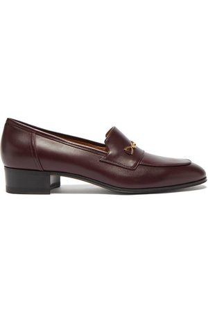 Gucci Women Loafers - GG Horsebit Leather Loafers - Womens