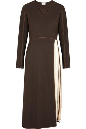 BODICE Dark panelled midi dress