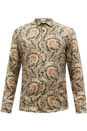 Etro Floral-print Silk-twill Shirt - Mens - Multi