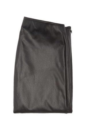 Wolford X Amina Muaddi Stirrup-cuff Faux-leather Leggings - Womens