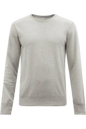 Reigning Champ Crew-neck Cotton-terry Sweatshirt - Mens - Grey