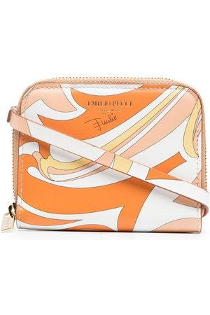 Emilio Pucci Women Wallets - Vortici pattern wallet