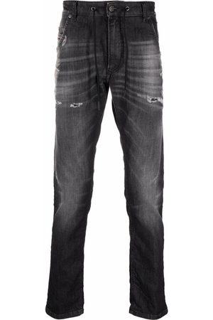 Diesel Men Slim - Slim-cut jogg jeans - Grey