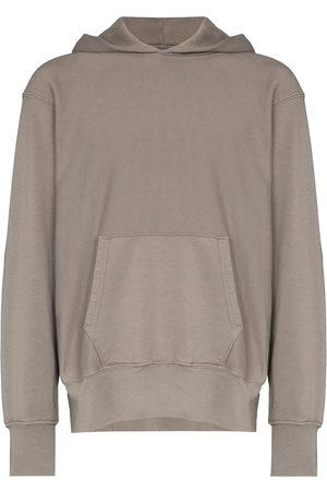 Les Tien Men Hoodies - Oversized hooded sweatshirt - Grey