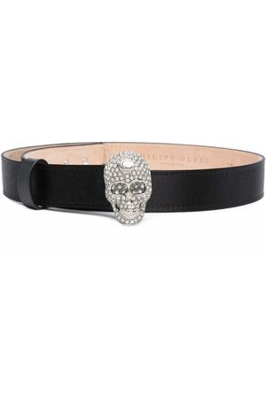 Philipp Plein Iconic Plein skull-embellished belt