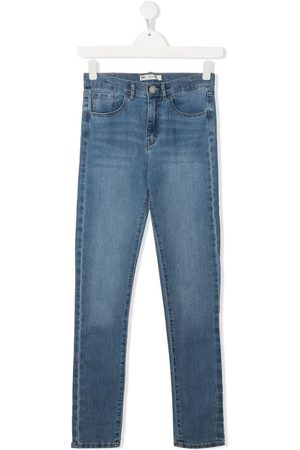 Levi's TEEN stonewashed slim-fit jeans