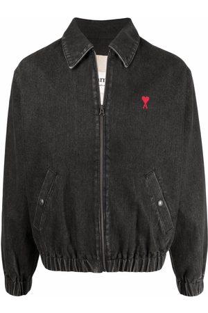 Ami Men Denim Jackets - Ami de Coeur denim jacket