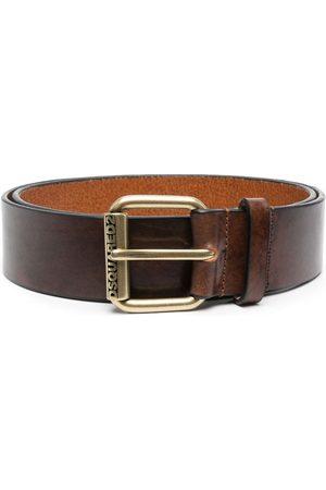 Dsquared2 Logo-embossed leather belt