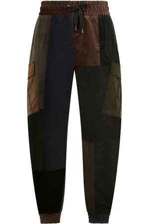 Dolce & Gabbana Tapered patchwork trousers
