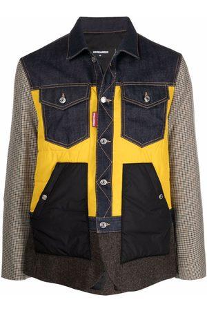 Dsquared2 Contrast-panel denim jacket