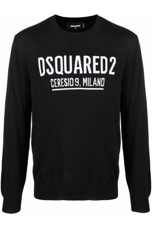 Dsquared2 Logo intarsia-knit jumper