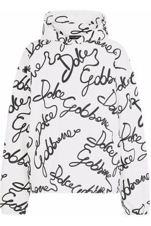 Dolce & Gabbana All-over logo print hoodie