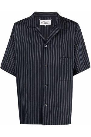Maison Margiela Men Short sleeves - Striped short-sleeve shirt