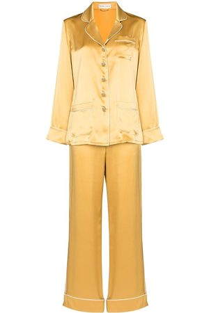 Olivia von Halle Two-piece pajama set
