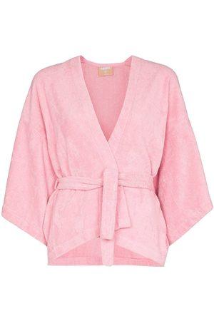 TERRY Women Kimonos - Il Pareo Kimono wrapped top