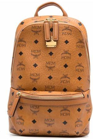 MCM Small Klassik sling backpack - Neutrals